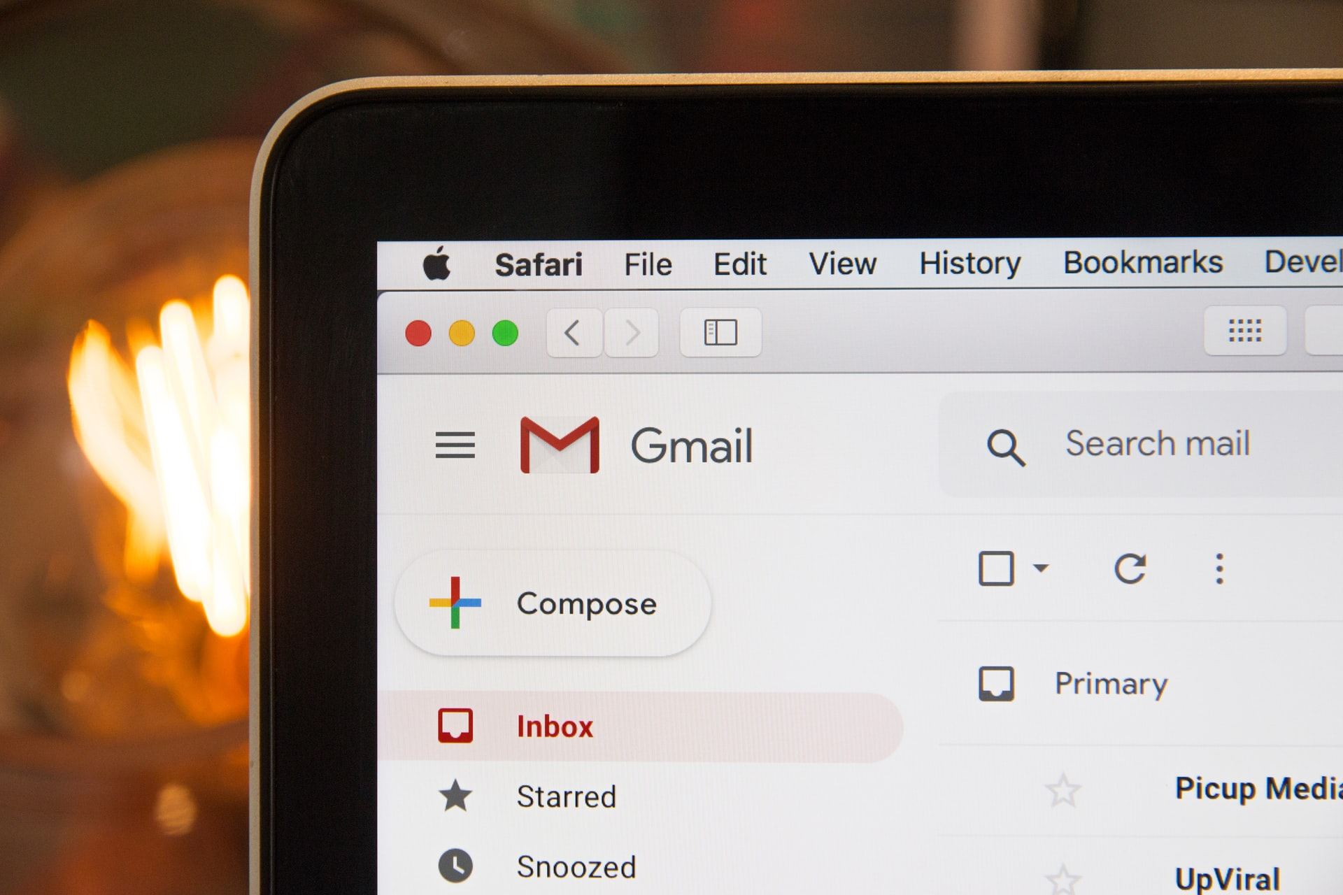 Screenshot Gmail